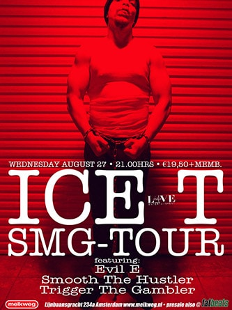AONE presents ICE T (Amsterdam | 2003)