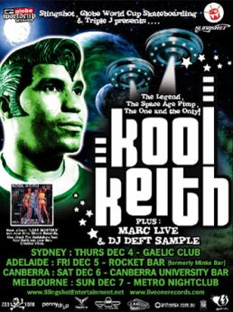 AONE presents Kool Keith (Australia Tour | 2003)