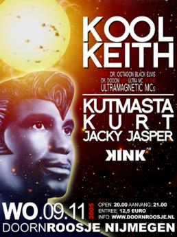 AONE presents Kool Keith (Nijmegen Netherlands | 2002)