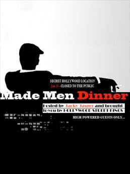 AONE presents the 'Made Men Charity Dinner'