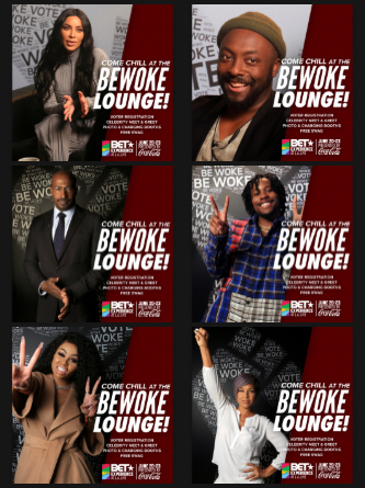 BET Experience 2019 Be Woke Lounge
