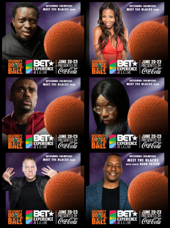 BET Experience 2019 Celebrity Dodgeball